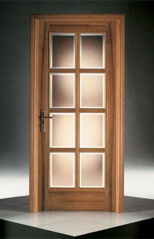 Vendita Porte con vetro in legno collezione CLASSICA