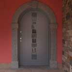 portoncino ingresso realizzato da Ecolegno