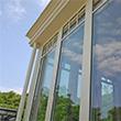 particolare veranda con schermature solari