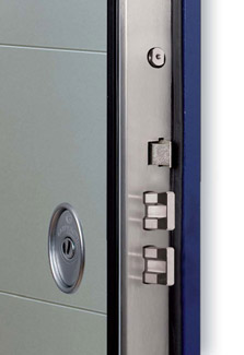 Porte blindate con vetro per esterni klima vetrata - Porta blindata classe 4 ...