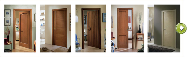 Vendita porte interne in legno a Brescia, Verona e Mantova