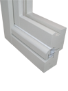 profilo del serramento in legno