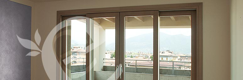 Casa moderna roma italy categoria porte scorrevoli - Allart finestre porte ...